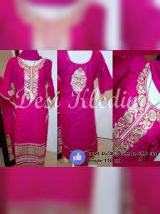 Roze Shalwar Kameez